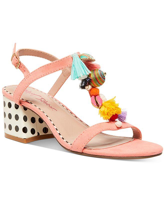 Betsey Johnson Dynah Dress Sandals