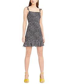 Printed Ruffled Mini Dress, Created for Macy's