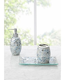 Lily Mosaic 3pc Bath  Accessory  Set