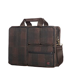 Waxed Hewes Briefcase