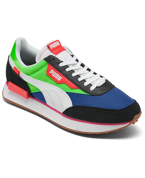 Puma Men's Future Rider Play On Running Sneakers from ...