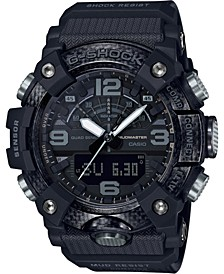 Men's Analog-Digital Mudmaster Black Resin Strap Watch 53mm