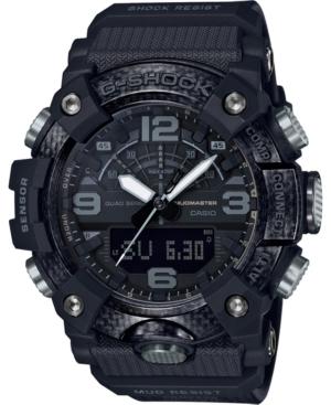 Men's Analog-Digital Mudmaster Black Resin Strap Watch 53mm