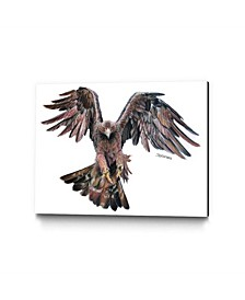 """Dino Tomic Golden Eagle Museum Mounted Canvas 24"""" x 18"""""""