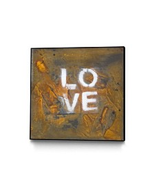"""Kent Youngstrom Love Squared Art Block Framed 24"""" x 24"""""""