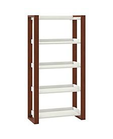 Voss 5 Shelf Etagere Bookcase
