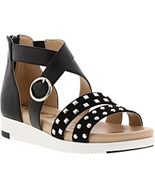 Little and Big Girls Audrea Cassie Sandal