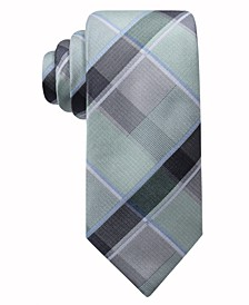 Men's Ruby Plaid Necktie, Created for Macy's
