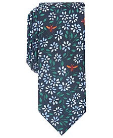 Men's Coppola Floral-Print Necktie, Created for Macy's
