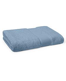 """Lauren Ralph Lauren Sanders  Antimicrobial Cotton Solid 30"""" x 56"""" Bath Towel"""