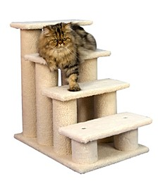 4 Steps Ramp for Dogs, Cats, Cat Step Stairs Ramp