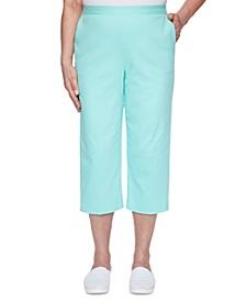 Petite Spring Lake Capri Pull-On Pants
