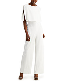 Connected Overlay Jumpsuit