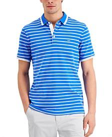 Men's Modern-Fit Stripe Polo Shirt