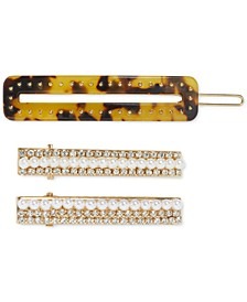 3-Pc. Hair  Clips Set