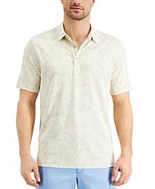 Men's Palmetto Palms Classic-Fit Tropical Print Piqué Polo Shirt