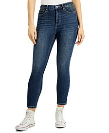 High-Rise Tummy-Control Skinny Jeans