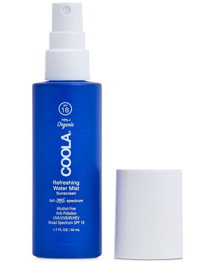 COOLA - Coola Full Spectrum 360° Refreshing Water Mist Organic Face Sunscreen SPF 18, 1.7-oz.