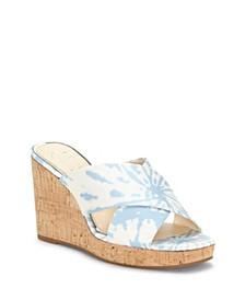 Seena Wedge Sandals
