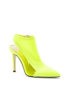 Pimrah High Heel Booties