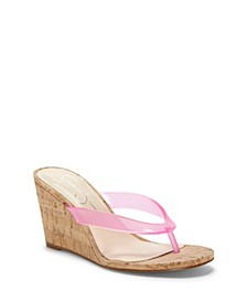 Coyrie Thong Wedge Sandals