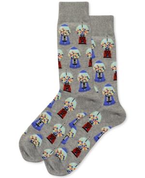 Hot Sox Men's Gumballs Crew Socks