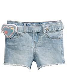 Little Girls Heart Wallet Short