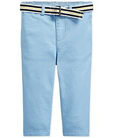 폴로 랄프로렌 남아용 치노 팬츠 Polo Ralph Lauren Baby Boys Belted Chino Pants