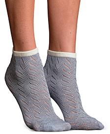 Women's Mila Pointelle Modal Anklet Socks