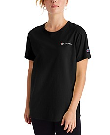 Women's Cotton Logo Boyfriend T-Shirt