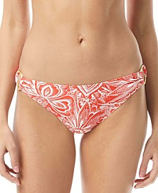 Printed Ring Hipster Bikini Bottoms