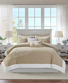 Coastline 5-Pc. Full/Queen Duvet Set