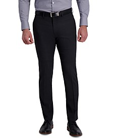 Men's Slim-Fit Stretch Flex Waistband Dress Pants