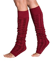 Women's Leg Warmers for Dance, Ballet, Yoga, Pilates, Barre or Cold Winter Days