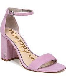 Daniella Two-Piece Block-Heel Sandals