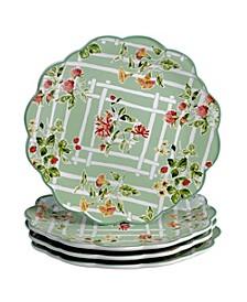 English Garden 4-Pc. Dinner Plates