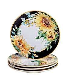 Sunflower Fields 16-Pc. Dinnerware Set