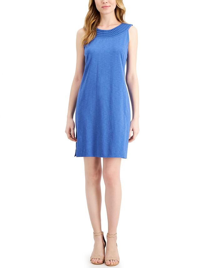 Tommy Bahama - Embroidered Shift Dress