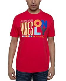 Men's Positive Vibes Graphic T-Shirt