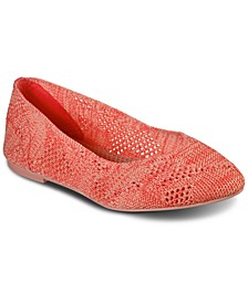 Women's Cleo Knitty City Casual Ballet Flats from Finish Line