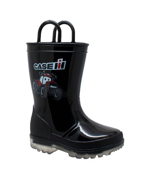 Case IH Toddler Boys Boot with Light-up Outsole