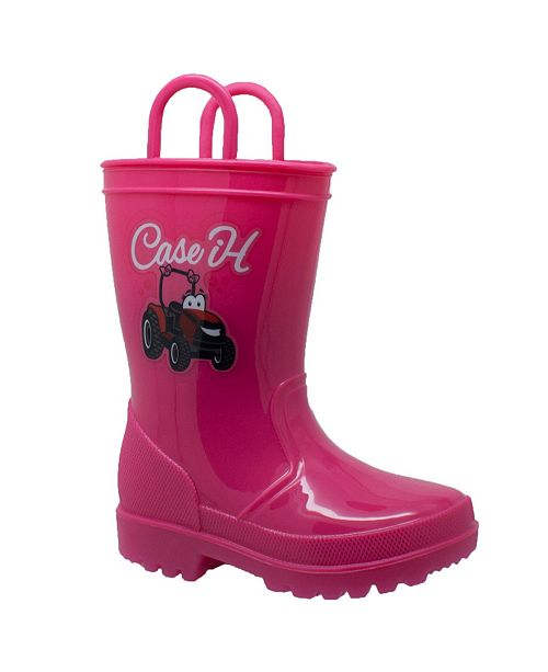 Case IH Toddler Girls Boot with Light-up Outsole