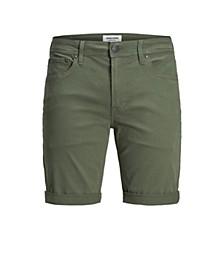 Men's Colored Stretch Denim Shorts
