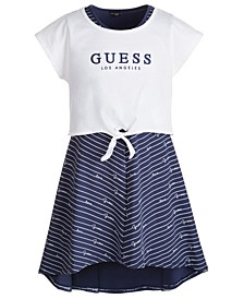 Big Girls Layered-Look Jersey Dress