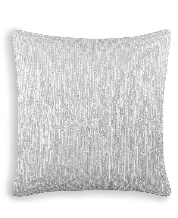 """Hotel Collection Olympia 18"""" x 18"""" Decorative Pillow, Created for Macy's"""
