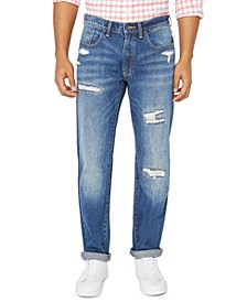 Jeans Co. Men's Original Relaxed-Fit Destroyed Jeans