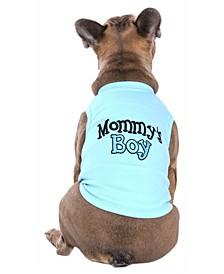 Mommy's Boy Dog T-Shirt