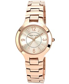 Watch, Women's Rose Gold-Tone Bracelet 32mm AK-1450RGRG