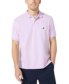 Men's Classic-Fit Pique Deck Solid Polo Shirt