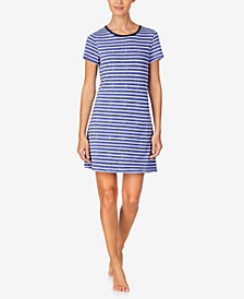 Women's Sweater-Knit Sleepshirt Nightgown, Online Only